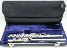 Pearl Flute Musical Instrument PF-661 E Silver Plate w Hard Case - Free Shipping