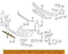 AUDI OEM 09-13 A3 Front Bumper Grille Grill-Spoiler 8P0807110D1RR