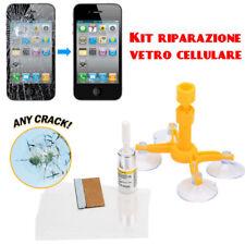 Kit riparazione crepe e fori del vetro del vostro cellulare smartphone iPhone
