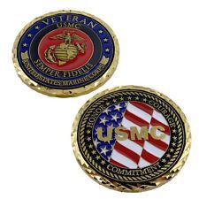U S Marine USMC Veteran Challenge Coin Military Semper Fi Medallion Talisman