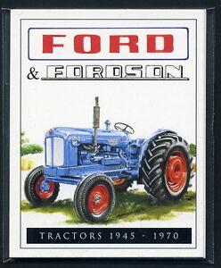 FORD & FORDSON Tractors 1945-1970 Collectors Card Set - Major Dexta Ploughmaster