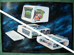 IBM PC XT 5150 Inside Personal Comp. Foto eines Posters 1982 A4 298mm x 210mm 2