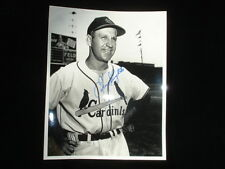 Enos Slaughter PSA/DNA Autographed 8x10