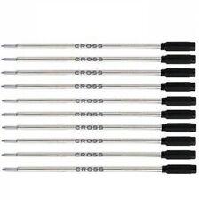 10 CROSS Ballpoint Pen Refills AUTHENTIC - BLACK BROAD - #8101