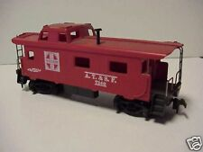 Caboose Santa Fe A.T.&S.F. Red color HO Train Stock
