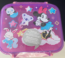 Disney Store Minnie Mouse Food Storage Container Bento Lunch Box ~ New