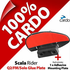 New Cardo Scala Rider Replacement Glue Plate Q2 Solo FM TeamSet Helmet Intercom
