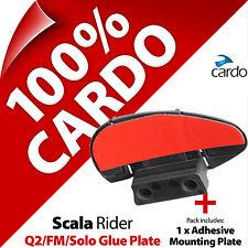 Nuevo Reemplazo de Cardo Scala Rider TeamSet FM Pegamento placa Q2 solo Casco Intercomunicador