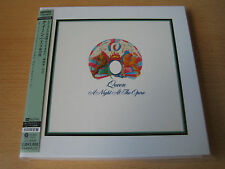 "Queen ""A night at the Opera"" Le Japon MINI LP SHM CD PLATINUM"