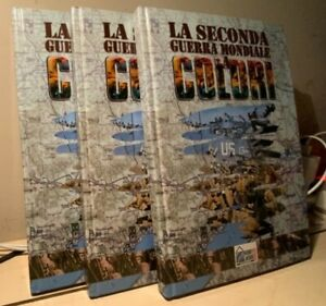 LA SECONDA GUERRA MONDIALE A COLORI 2004 HOBBY & WORK 3 volumi