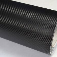 Car Auto Vehic 3D 127*30cm DIY Carbon Fiber Vinyl Wrap Sheet Roll Film Sticker