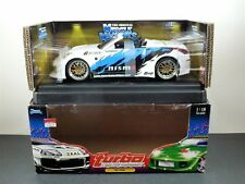 Muscle Machines 2004 Nissan 350Z Turbo  Diecast 1:18 Scale