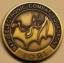 43rd Electronic Combat Sq Compass Call ser# 1021 Air Force Challenge Coin
