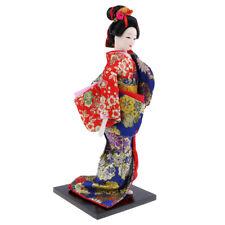 MagiDeal Ethnique Japonais Geisha Poupée Kimono Poupées Miniature Figurine