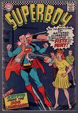 Superboy #131 Very Good - Krypto Superdog Story Silver Age Dc Comics 1966 Sa