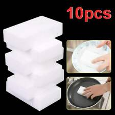 10P Magic Sponges Cleaning Melamine Foam Eraser Stain Foam Dirt Pad Remover