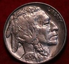 Uncirculated 1937-S San Francisco Mint Buffalo Nickel