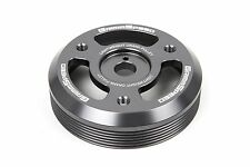 GrimmSpeed Gunmetal Light Weight Crank Pulley For 13+ BRZ / FRS - 15+ WRX 095025