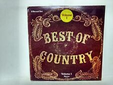 Best Of Country Volume One 2 Record Set Vinyl 2LP Record                   lp994