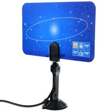 Digital Indoor TV Antenna HDTV DTV Box Ready Linear HD VHF UHF High Gain LKR8