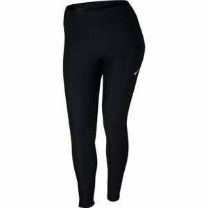 Nike Womens Leggings Power Victory Gym Tights PLUS SIZE Full Length   Black