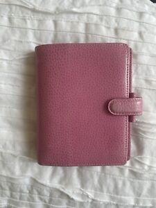 Filofax Pink Finsbury Pocket Organizer - Planner - Agenda