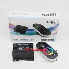18A 216W DC12V Wireless RF Dimmer Control Touch Remote 3528 5050 RGB LED Strip