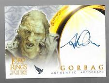 Lord of the Rings Return of The King autograph card Stephen Ure - Gorbag
