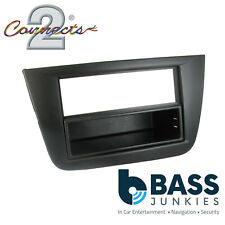 Car Stereo RHD Single Din Fascia Panel & Pocket CT24ST04 fit Seat Altea-04-15