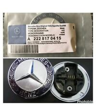 MERCEDES BENZ 57mm BONNET BADGE  A2228170415 C E S CLK AMG CLASS EMBLEM W204 NEW