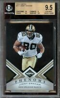 2010 limited #177 JIMMY GRAHAM new orleans saints rookie BGS 9.5 (10 9 9.5 9.5)