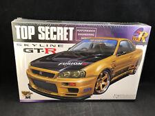 Aoshima Top Secret Skyline GT-R 1:24 Scale Plastic Model Kit 034576 NIB
