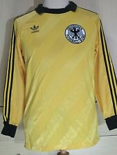 Germany World Cup 1986 Adidas Goalkeeper Football Shirt Vintage Soccer Jersey M