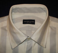 "MEN'S PROPER CLOTH STRIPED SHIRT - NWOT - 16/34"" - SHIRTS - DESIGNER SHIRTS."