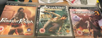 PRINCE OF PERSIA THE FORGOTTEN SANDS, AND UNCHARTED 1 & 3  PS3 Bundle FREEPOST