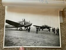 More details for bristol beaufort 22 sqd -1st sqd formed thorney island -photo (22cmx16cm approx)