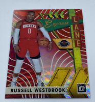 Russell Westbrook 2019-20 Donruss Optic Red Prizm Wave Express Lane #7
