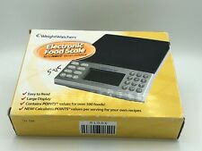 Weight Watchers Electronic Food Scale With Points Values Database 30016 - NIB