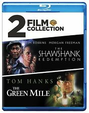 The SHAWSHANK REDEMPTION / The GREEN MILE  BLU RAY SET MORGAN FREEMAN TOM  HANKS