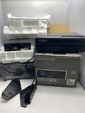 Kenwood Krc-530 High Power Cassette Receiver + Kdc-c401 10 Disc Changer, Vintage