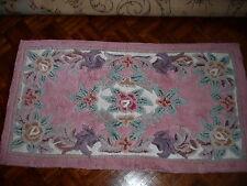 tapis Motifs fleuris Couleurs pastel 105x57 cm