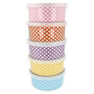 Lesser & Pavey Keramik Reise Snackbox 6 Farben Erhältlich