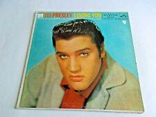 Elvis Presley Loving You LP 1957 RCA Victor Mono Original Vinyl Record