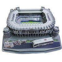3D Real Madrid Replica Bernabeu Football Stadium Puzzle - 160 Pieces Gift Model