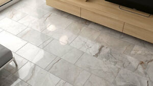Sicilian Quirrel 30 X 60 Marble GreyGloss Polished Porcelain Rectified