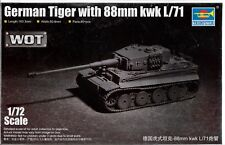 Trumpeter German Tiger with 88mm KwK L/71 in 1/72 7164  ST