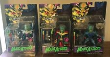 3 Talking MARS ATTACKS Figures Paeec Overlord Trooper Supreme Commander WORKS!