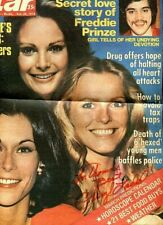 CHERYL LADD Charlie's Angels Signed 10X12 newspaper cover inscribed PC920