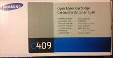 NEW ! GENUINE Samsung CLP310 CLP315 CLX3170 CLX3175 Cyan Toner C409 CLT-C409S