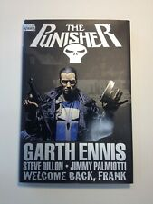 THE PUNISHER - WELCOME BACK, FRANK - MARVEL - GARTH ENNIS - STEVE DILLON